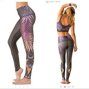 Teeki Phoenix Rising Hot Pant Leggings L
